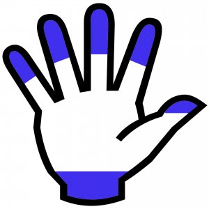 claw-grip