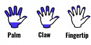 palm-claw-fingertip