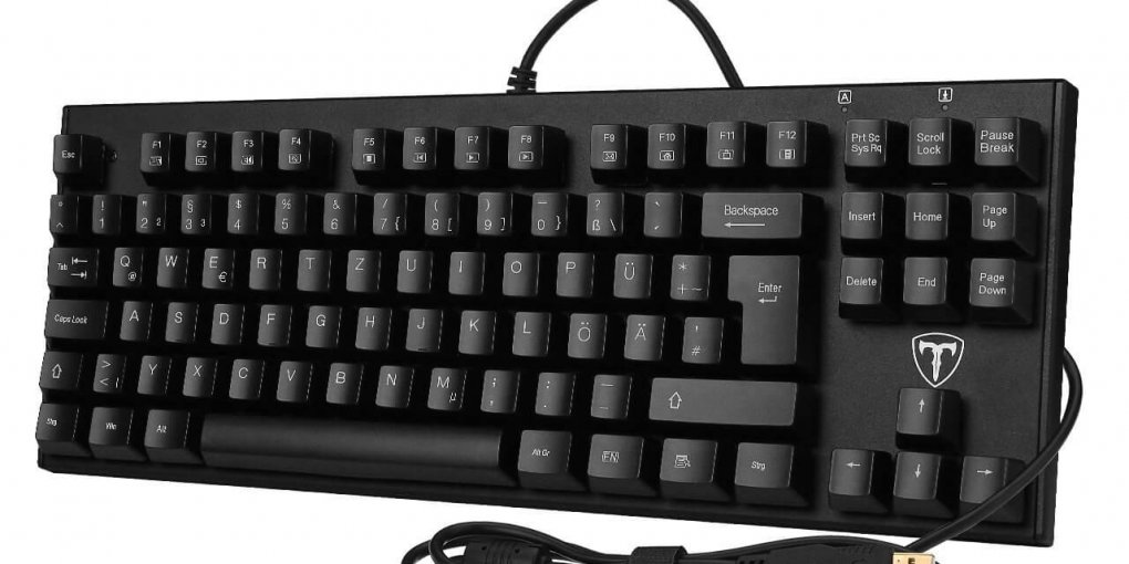 Topop mechanische 87-Tasten Gaming Tastatur Test