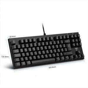 topop mechanische gaming tastatur