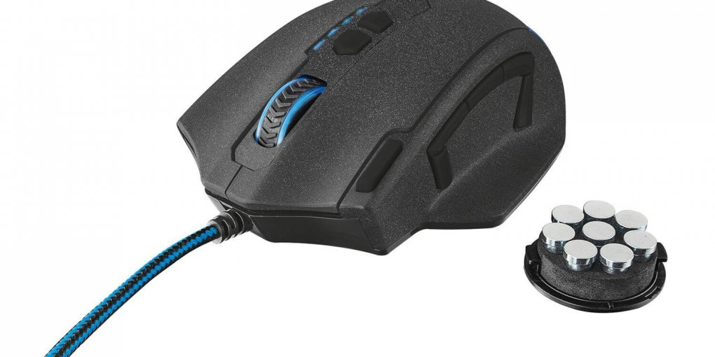 trust gxt 155 gaming maus test