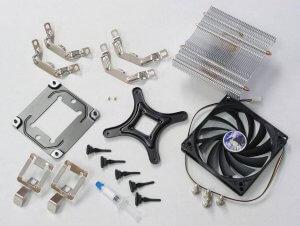 CPU Kühler Montage