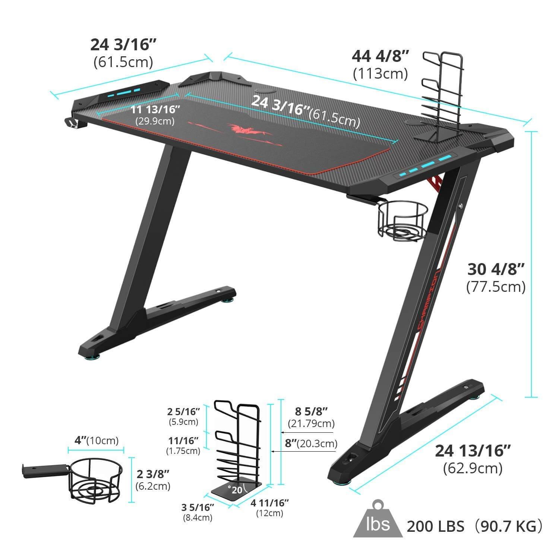 Ultradesk Gaming Tisch
