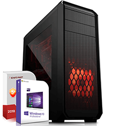 Systemtreff 700 Euro Gamer PC Set